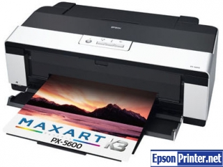 How to reset Epson PX-5600 by software