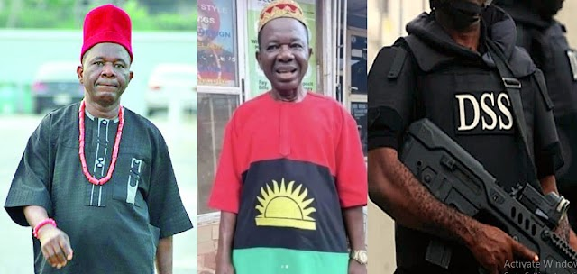 'Now His Safety Is In Danger' - Fans Express Concern For Veteran Actor Chinwetalu Agu As He Rocks Biafra Flag Outfit
