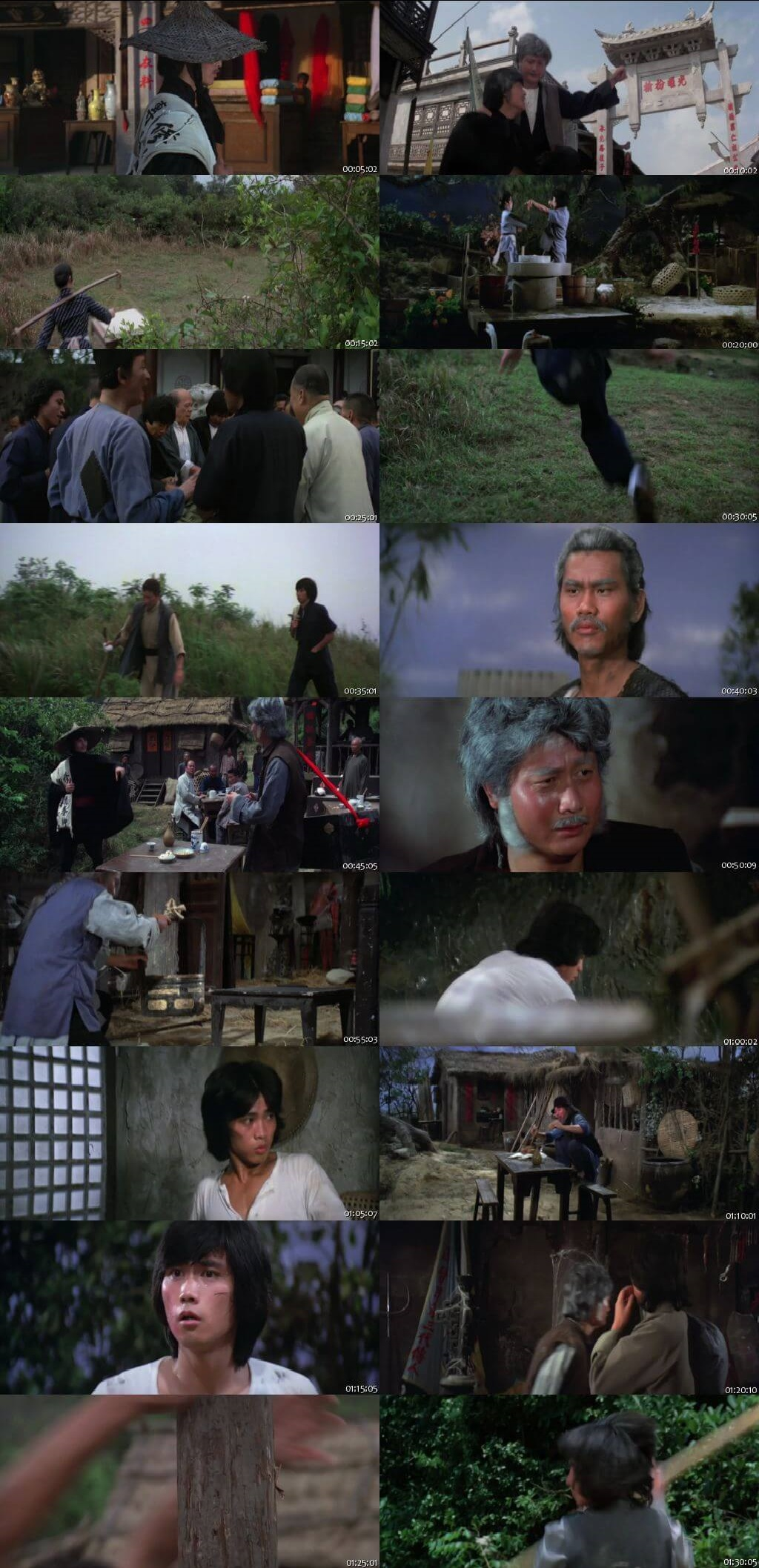 Screen Shot Of Five Superfighters 1979 In Hindi Chinese Dual Audio Bluray