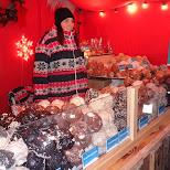 christmas market in Copenhagen, Copenhagen, Denmark