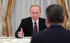 Vladimir Putin, Tigran Sargsyan.