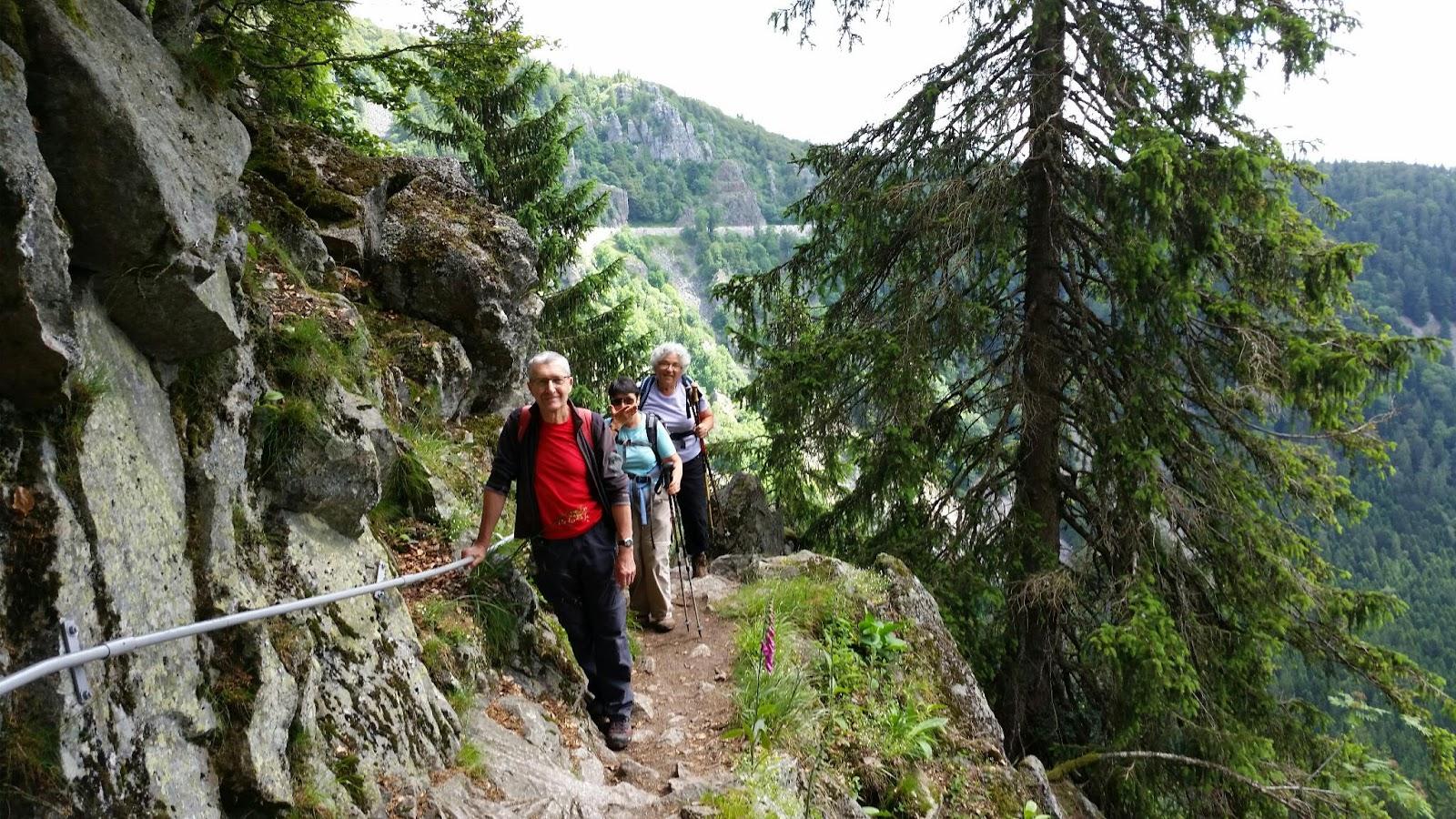 Bmwglobe boucle au col de la schlucht - Jardin d altitude du haut chitelet ...