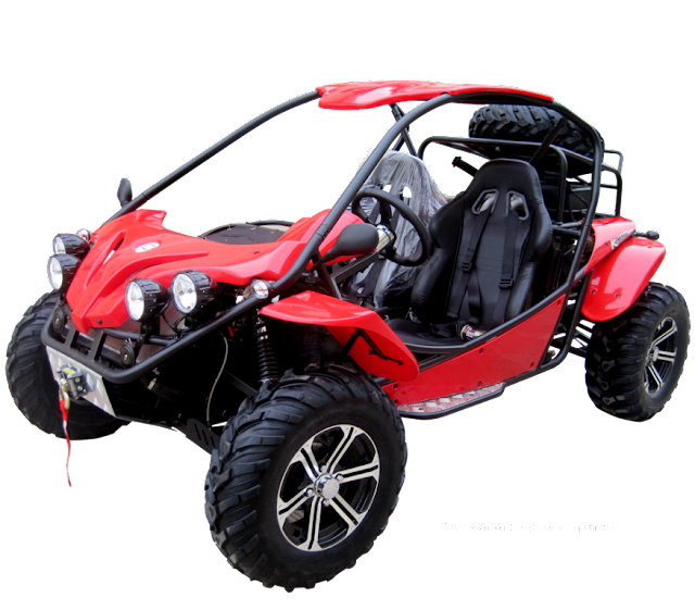 1100cc XY 4x4 Offroad Dune Buggy Red