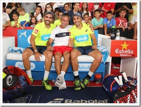 Belasteguín - Lima Campeones en el Estrella Damm Valencia Master 2018