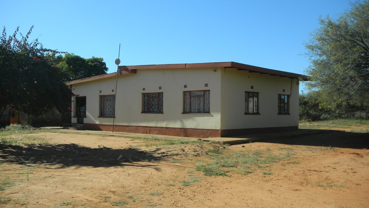 The home we will be living in in Mochudi