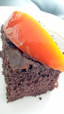 Pair your favorite chocolate cake with Jackie Kai Ellis' recipe for Confit Orange