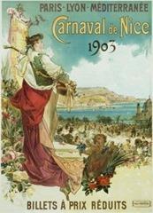 Carnaval de Nice affiche 1903