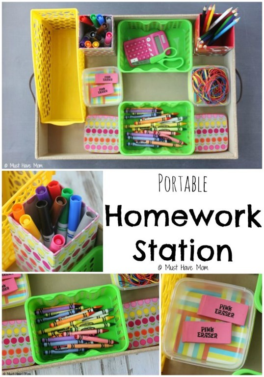 Genius-Portable-Homework-Station-Idea.-This-is-perfect-for-kids-homework.-Just-pull-it-out-and-the-kids-have-everything-they-need-to-complete-their-assignments