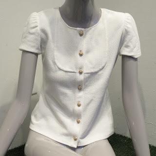 Chanel Knit Blouse