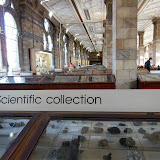 Камни в Музее Естествознания