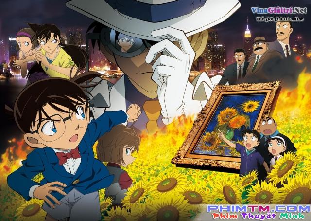 Xem Phim Conan Movie 19: Hoa Hướng Dương - Detective Conan Movie 19: Sunflowers Of Inferno - phimtm.com - Ảnh 1