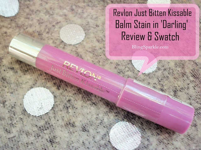 revlon just bitten kissable balm stain review and swatch details