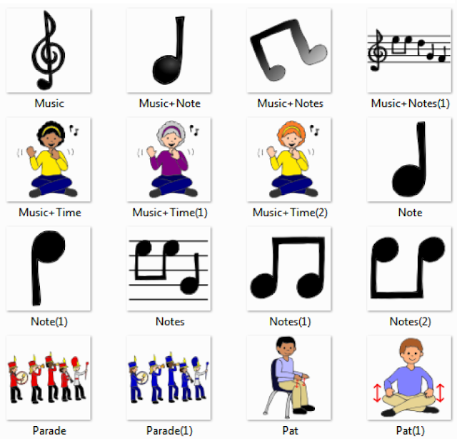 3%2520 %2520Music%2520Pictures%2520for%2520Classroom%2520and%2520Therapy%2520Use Musical Instruments things english through pictures