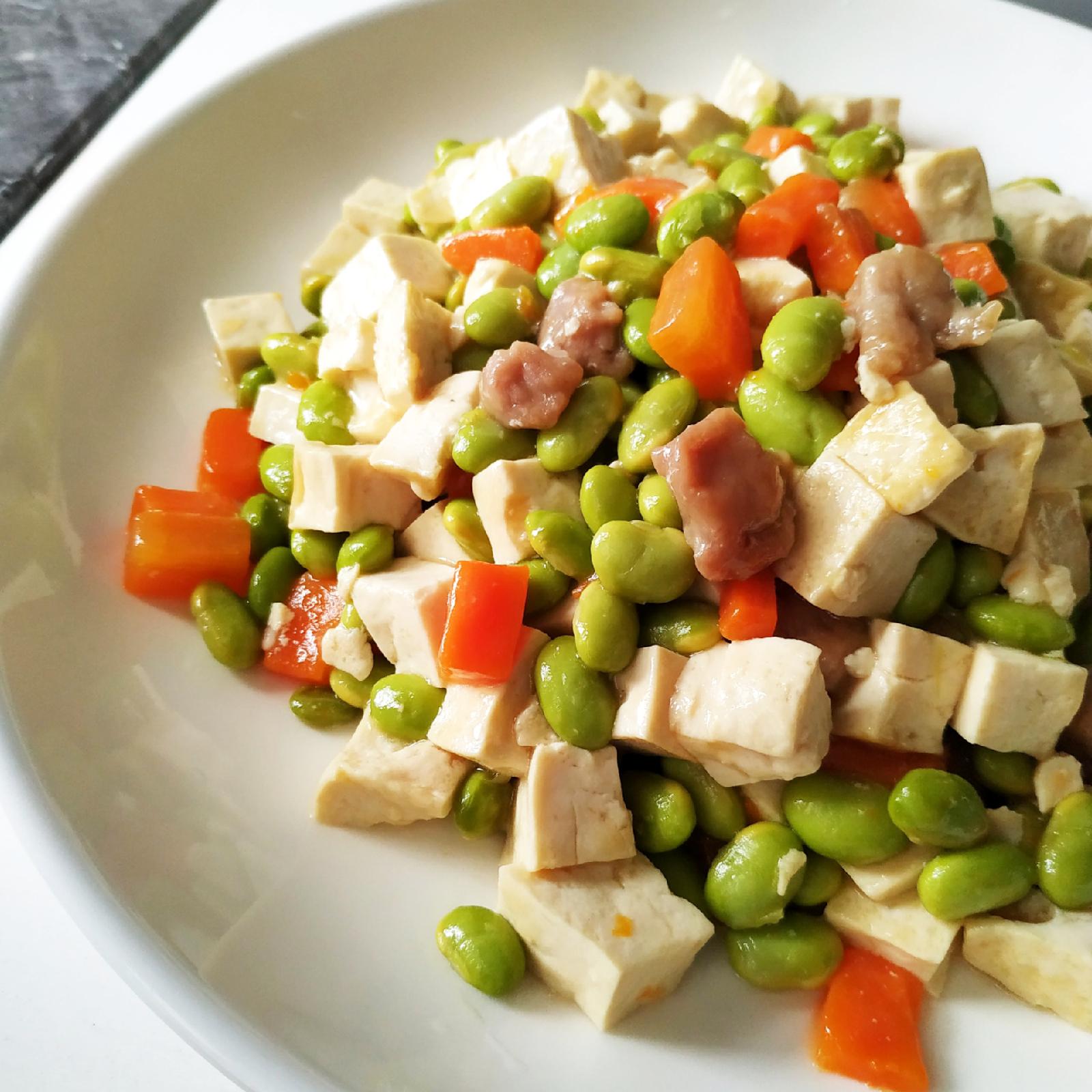 簡單家常食譜分享!超健康四色炒粒粒