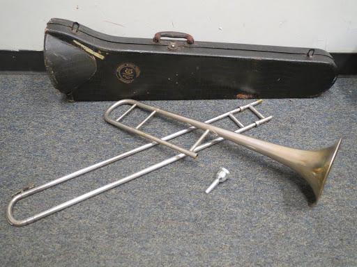 Vintage Cavalier Trombone by Conn | Shophousingworks
