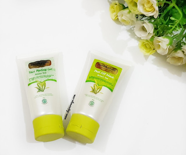 [Review] Mustika Ratu Face Peeling Gel dan Peel Off Mask Green Tea