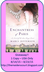 Enchantress of Paris Giveaway
