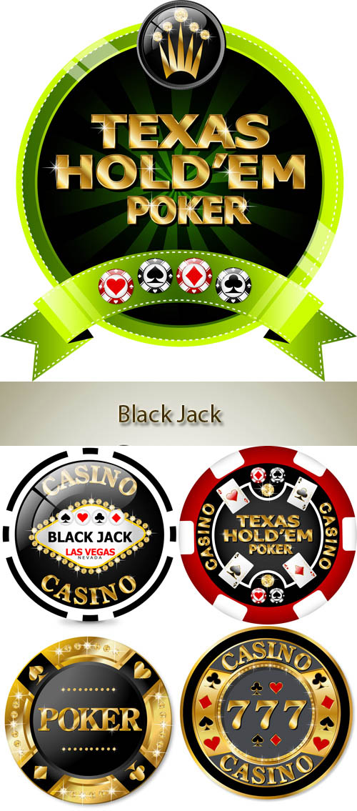 Stock: Design of counters for a casino and Black Jack