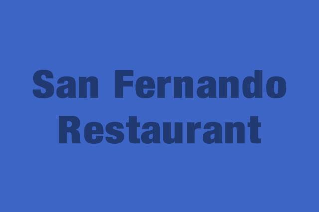 San Fernando Restaurant es Partner de la Alianza Tarjeta al 10% Efectiva