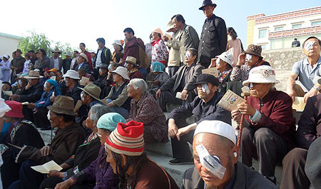 First patients who received cataract surgery July 2010