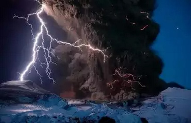 vulcoes na antartida