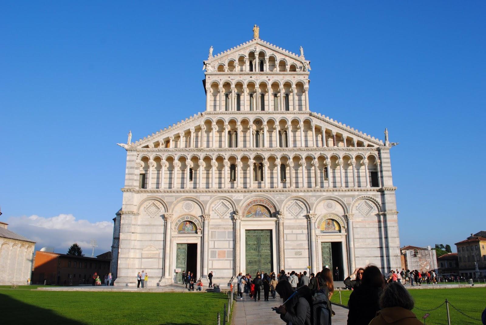 My Photos: Italy -- Pisa -- Piazza dei Miracoli -- Cattedrale de Santa Maria Assunta