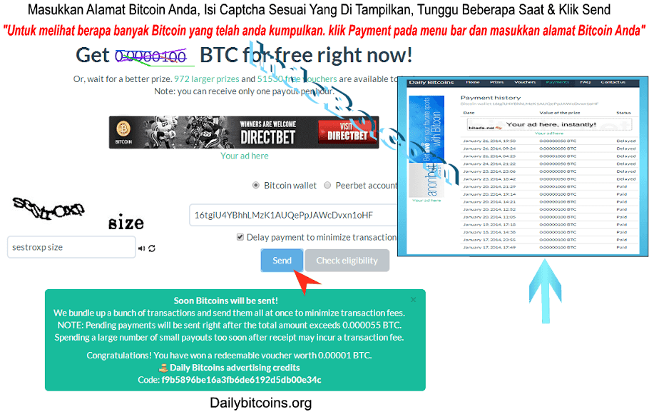 Mendapatkan Bitcoin Gratis Tanpa Modal - Panduan Cara Mendapatkan Bitcoin Gratis