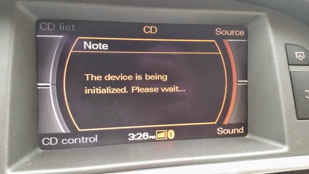 CD Changer to AMI retrofit on 05 A6