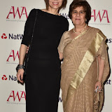 OIC - ENTSIMAGES.COM - Elif Shafak, author (winner of the Global Empowerment Award in 2015) and Pinky Lilani CBE DL, Chair and Founder, Asian Women of Achiement Awards at the Asian Women of Achievement Awards in London  12th May 2016 Photo Mobis Photos/OIC 0203 174 1069