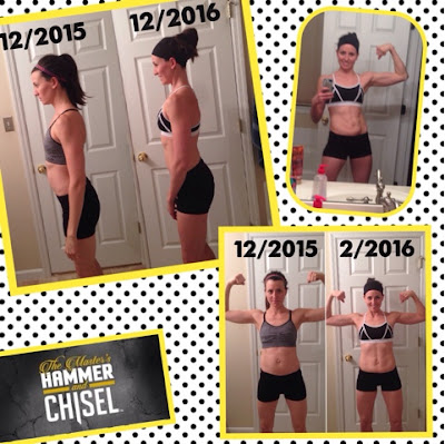 hammer and chisel, results, transformation, beachbody, fitness, muscle, program, flex, 60 day, nutrition