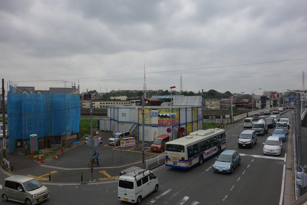 兜塚古墳跡 神奈川県横浜市鶴見区駒岡町 - 墳丘からの眺め