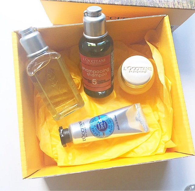 HOUSE OF HELEN: L'Occitane free gift