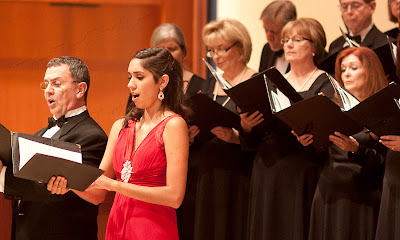 Bruce Cain, bass, Katie De La Vega, soprano.Photos by TOM HART/ FREELANCE PHOTOGRAPHER