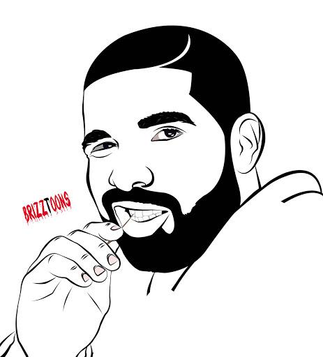 Drake Cartoon Drawing