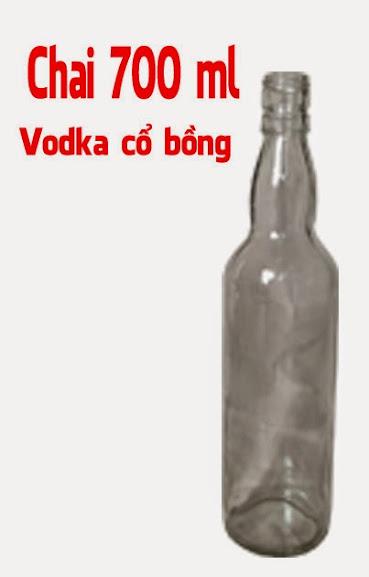 Ban chai Thuy tinh 300 ml