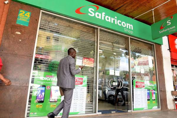 Safaricom shops locations and direction in Nairobi and Mombasa photos as well