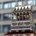 Kedvencek / A Szent Jobb magyar nemzeti és katolikus ereklye, amely feltételezetten Szent István király természetes úton mumifikálódott jobb keze – Szent Jobb-körmenet, Budapest, 2018
