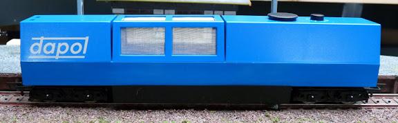 Dapol B800: Railreinigingswagen