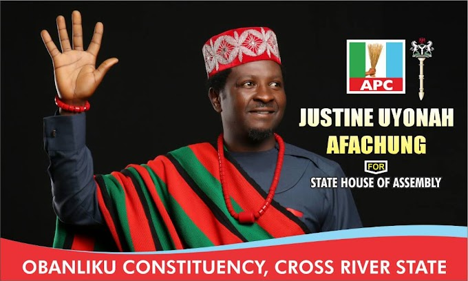 Consolidating The Future For Our People: Obanliku House of Assembly aspirant, Mr Justine Afachung speaks out