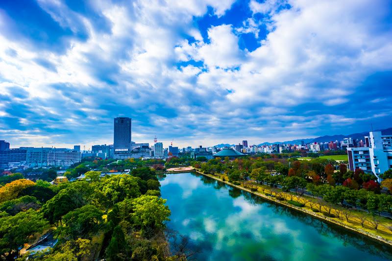 Hiroshima Castle top floor2