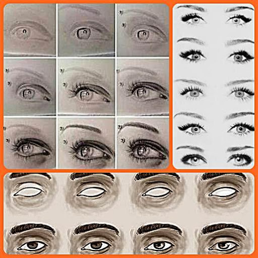 Draw Eyes Easy Steps Apk Download Apkpure Co