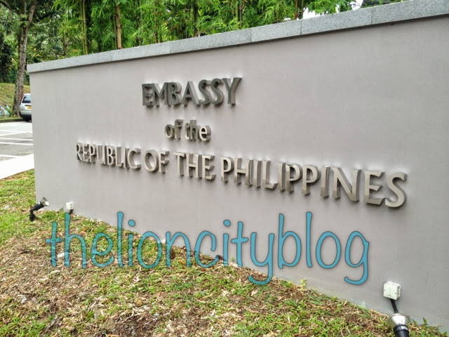 The Philippine Embassy in Singapore (POLO: Philippine