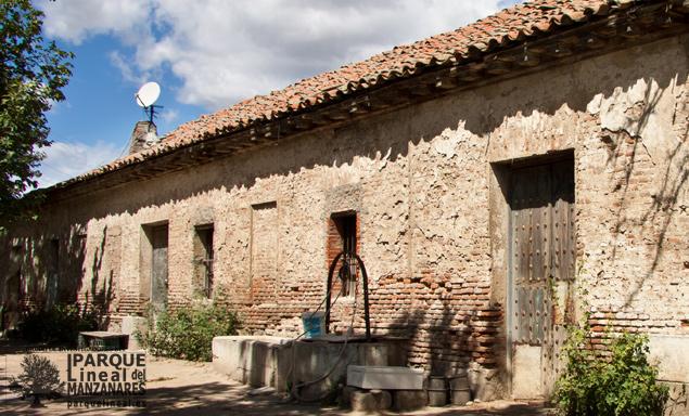 Casa peón conservador Cuarta Esclusa Real Canal del Manzanares