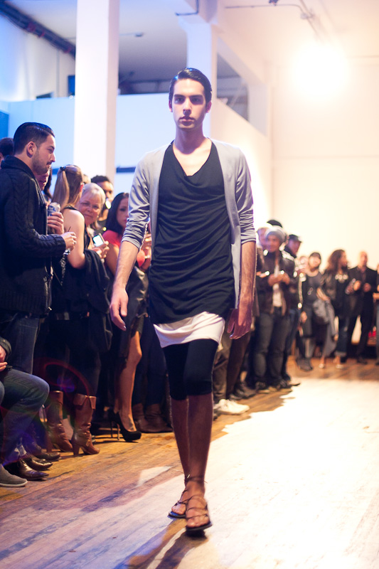 Justin Jamison - Constituent Parts Fashion Show 2011
