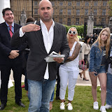 OIC - ENTSIMAGES.COM - Marc Abraham at the Puppy Farming Protest - demonstration and photocall 24th May 2016, rally and photocall in London's Parliament Square to raise awareness of the UK's cruel puppy farming trade, in association with PupAid, Boycott Dogs4Us and C.A.R.I.A.D.  Photo Mobis Photos/OIC 0203 174 1069