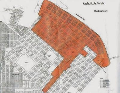City of Apalachicola CRA Boundary Map