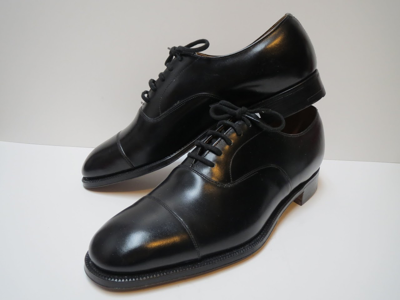 Church's Captoe Oxfords in Black