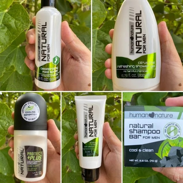 Human Nature products for men