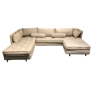 French Mattress Tufted Sectional Sofa