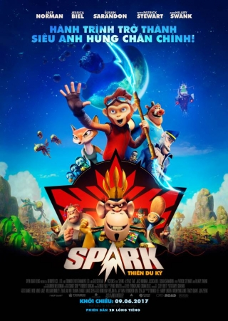 Spark: Thiên Du Ký - Spark: A Space Tail (2017)